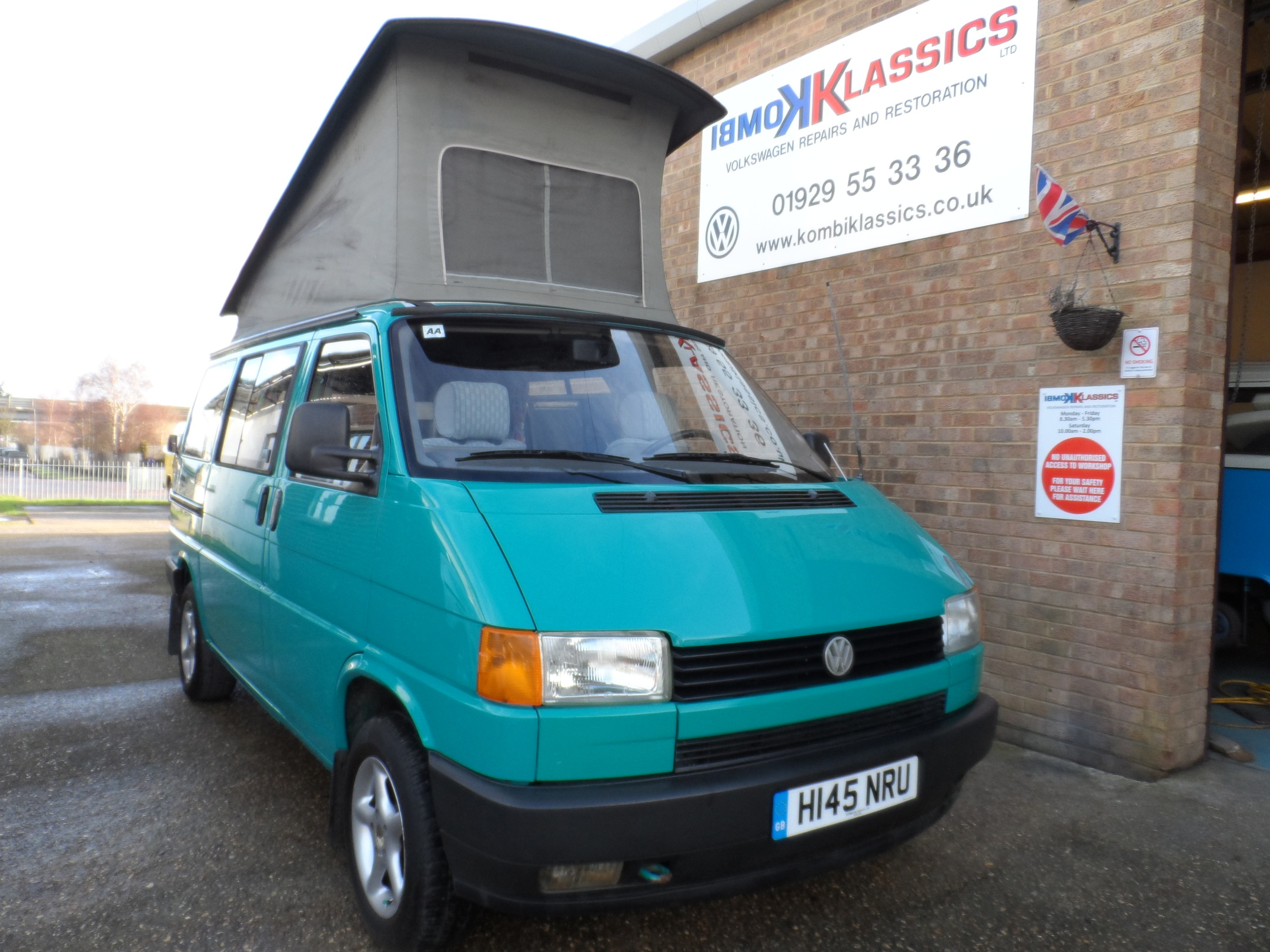 W Mega VW T4 Westfalia California AR57